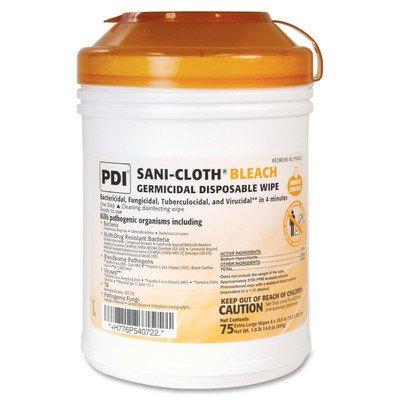 SANI-CLOTH BLEACH Germicidal Disposable Wipe 75 ct