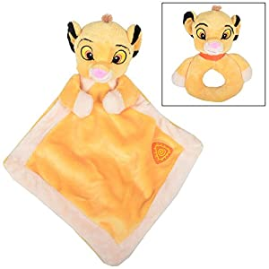 Kids Disney the Lion King Simba Babys Rattle / Comforter Suitable For Newborns