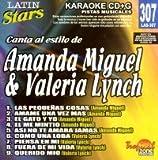 echange, troc Karaoke - Latin Stars Karaoke: Amanda Miguel/Valeria Lynch