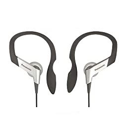 Panasonic RP-HS6E-S Earhook Headphone (Silver)