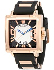 Stuhrling Original Men's 278B.3347J13 Sportsman Il Capo Classic Swiss Quartz Date Rosetone Watch