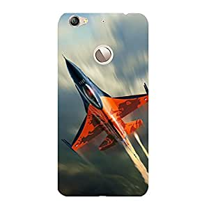 Clapcart Aircraft Design Printed Mobile Back Cover for LeTV Le 1S -Multicolor