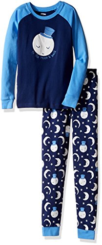 Gymboree Big Boys' Raglan Sleeve Tight-Fit Pajamas
