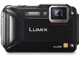 Panasonic Lumix DMC-TS5K 16.1 MP Tough Digital Camera with 9.3x Intelligent Zoom (Black)