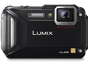 Panasonic Lumix DMC-TS5K 16.1 MP Tough Digital Camera with 9.3x Intelligent Zoom (Black)