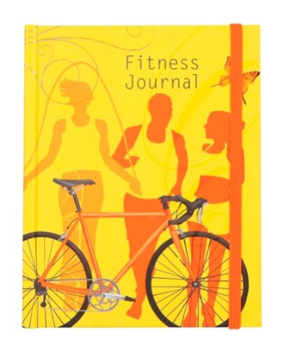 CR Gibson Guided Journal to File, Store, Organize and Record Information, Fitness Journal, - 1