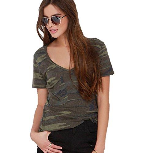 monroe-s-blusa-camiseta-de-camuflaje-de-la-mujer-cuello-en-v-manga-corta-tops-mujer-color-army-green