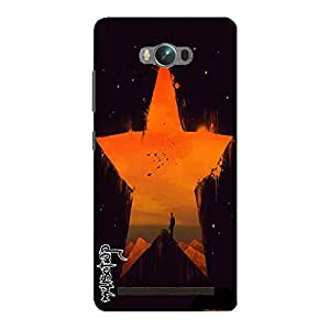 Premium Quality Mousetrap Printed Designer Full Protection Back Cover for Asus Zenfone Max-402