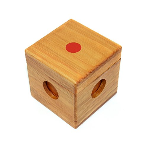 KINGOU Wooden Box-packed Burr Puzzle 3D Tetris Jigsaw Toy Brain Teaser Magic Cube - 1