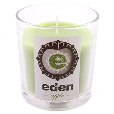 Eden Scented Candle Jar - Apple - Candles from puckator