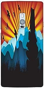Snoogg Beautiful Landscape Background Designer Protective Back Case Cover For...