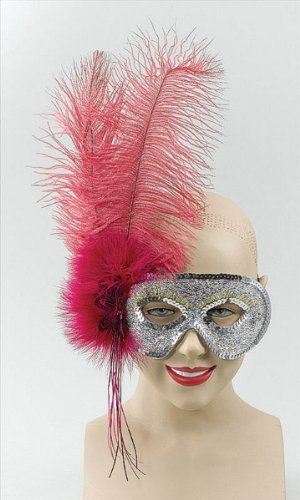 Silve (Silver Sequin Eyemask)