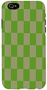 Snoogg chequered pattern design 1041 Case Cover For Apple Iphone 6 iphone 6