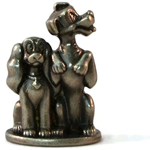 Genuine Monopoly Disney Edition Lady & The Tramp (Token/Piece/Replacement Part/Extra/Mover) - 1