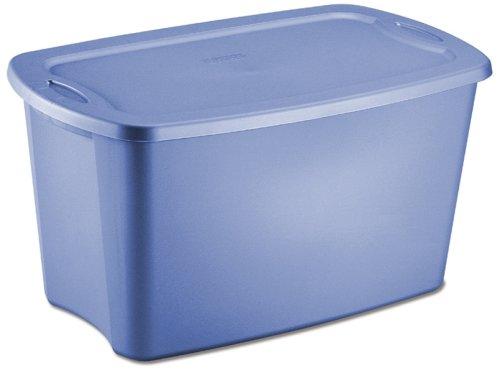 STERILITE 18351006 Storage Tote, 30 Gallon, Set of 6 (30 Gal Plastic Storage Containers compare prices)