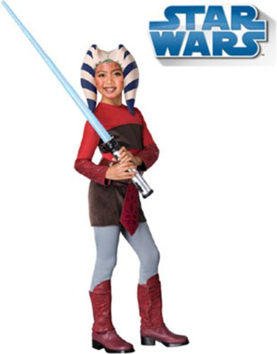 Star Wars Clone Wars Child's Ahsoka Costume