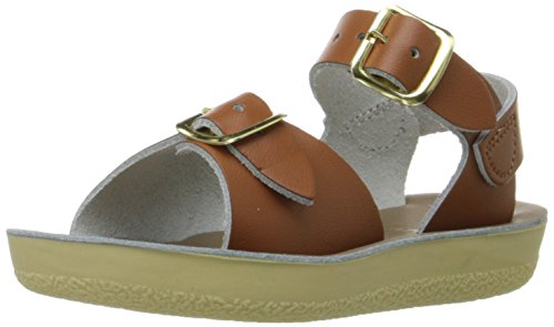 Salt Water Sandals by Hoy Shoe Sun-San-Surfer Sandal,Tan,8 M US Toddler (Salt Waters Kids compare prices)