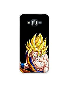 SAMSUNG GALAXY J310 nkt01 (41) Mobile Case By Mott2 - Fighter Goku - Dragon B... (Limited Time Offers,Please Check the Details Below)