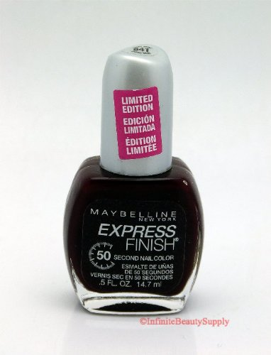 Maybelline Express Finish Polish #641 Devine Wine (LIMITED EDITION) (Maybelline Quick Dry Nail Polish compare prices)