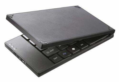 Perixx PERIBOARD-805L Bluetooth Folding Keyboard - Large Desktop Size Keys - Magnetic Foldable Design - 6.30 X3.78...