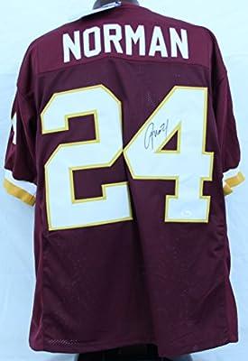 Josh Norman Washington Redskins Autographed/Signed Jersey JSA