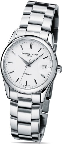 Frederique Constant Men's FC303S6B6B Index Silver Automatic Dial Watch