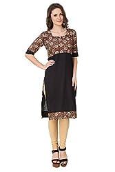 Zuri Women's Cotton Multi-Coloured Kurti :-KUR090474_XXL