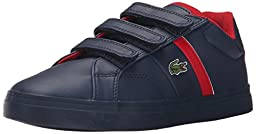 Lacoste Fairlead 116 1 Sneaker (Toddler/Little Kid/Big Kid), Navy, 5 M US Toddler