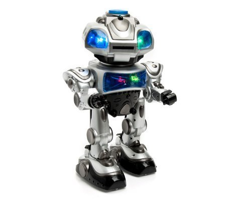 Robokid Remote Controlled RC Dancing Robot w/Missile Disc Launcher ---NEW! [Holiday Gifts] (Walking Shooting Robot compare prices)