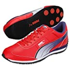 Puma Silly Point Ind Cricket Shoe Red | UK10