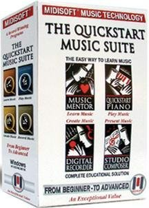 Midisoft Quickstart Music Suite