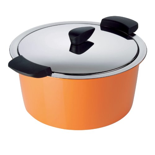 Kuhn Rikon 3-Quart Hotpan Casserole, Orange
