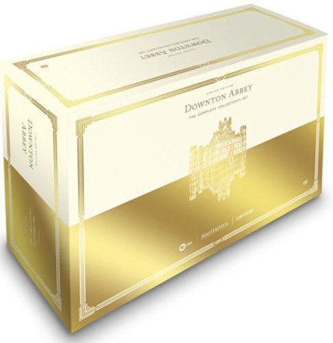 DVD : Downton Abbey: The Complete Limited Edition Collector's Set (Masterpiece Classic) (Oversize Item Split, Boxed Set, 22 Disc)