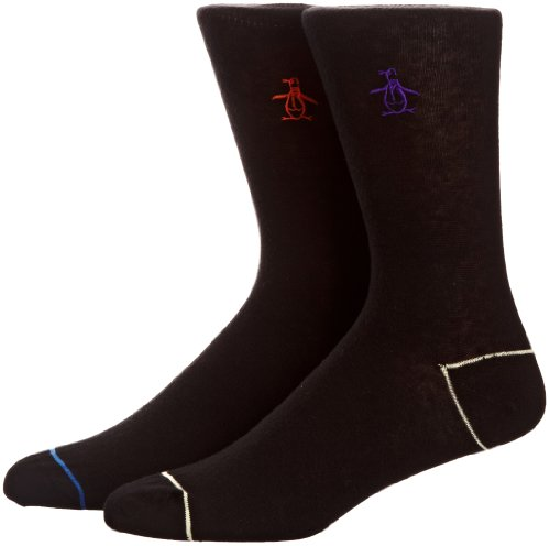 Original Penguin 2 Pack Socks Men's Socks Caviar