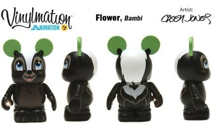 NEW Disney Vinylmation 3'' Figure Animation Series 2 Flower from Bambi CUTE - 1