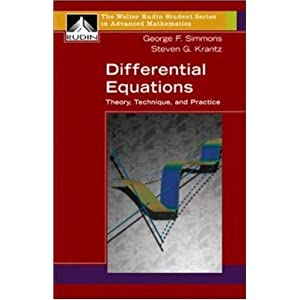 differential equations george f simmons and steven g krantz pdf