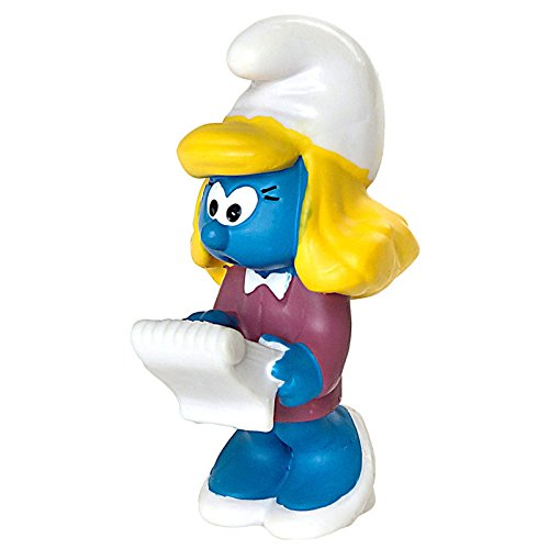 Schleich North America Manager Smurfette Toy Figure