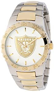 Game Time Mens NFL-EXE-OAK Oakland Raiders Watch by Game Time