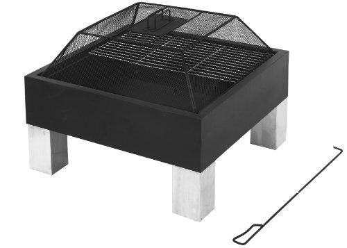 """""""Tepro cuore"""" """"Laredo"""", """"con grill e parascintille - forma quadrata - piano di cottura Large - mesh wireless Pratica"""""""