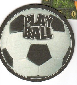 8 absorbent drink coasters play ball motif soccerball coasters - Drink coasters absorbent ...