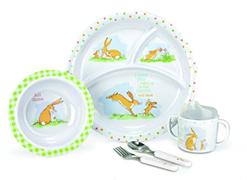 Kids Preferred Guess How Much I Love You 5 Piece Melamine Set