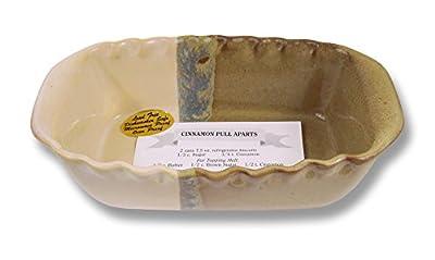 Clay In Motion Handmade Ceramic Loaf Pan - Desert Sand