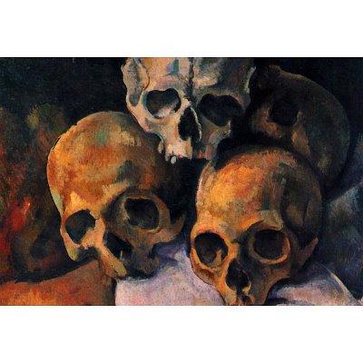 Paul Cezanne (Still lifes, skull pyramid) Art Poster Print - 13x19