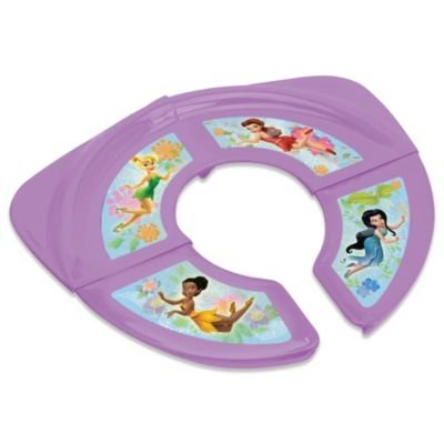 Ginsey Disney ' Fairies Folding Potty Seat - 1