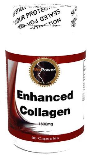 Enhanced Collagen # - 90 Capsules 1800mg Enhanced Collagen w/ Amino Acids Bovine Enriched