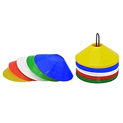 GSI Saucer Training Cones with Stand for Speed and Agility Training