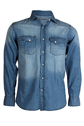 Camicia jeans Dallas - Taglia: L