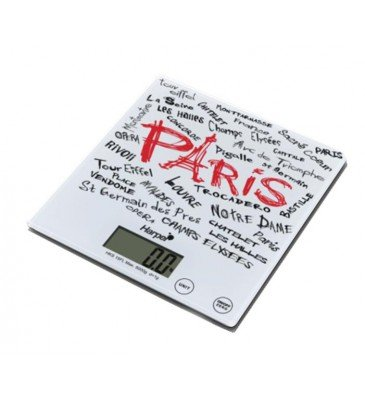 BALANCE DE CUISINE PARIS HAUTE PRECISION BLANCHE