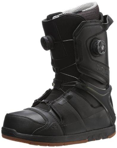 thirtytwo Men's Focus Boa Snowboard Boot,Black,9.5 D US