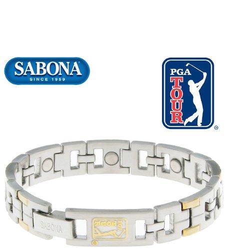 Men's Sabona PGA Tour Duet Magnetic Bracelet